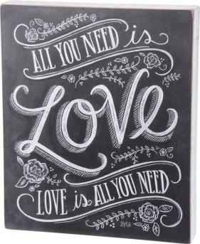 chalkboardsignallyouneedislove